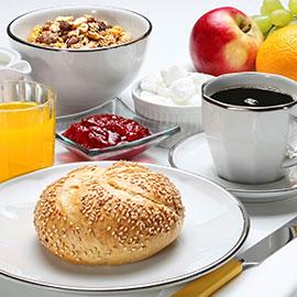 Enjoy breakfast here!